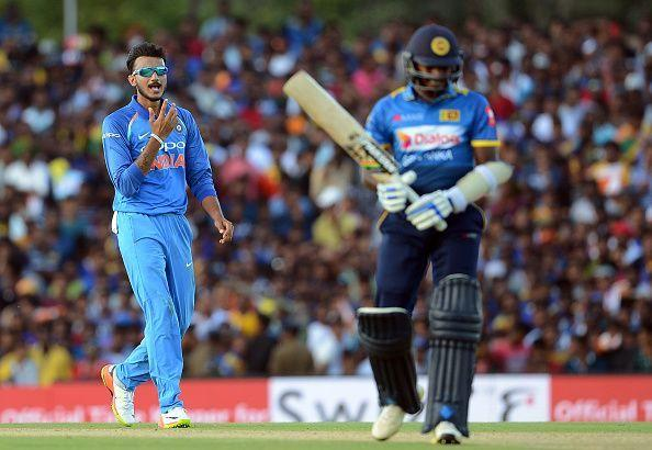 Axar Patel made an immediate impact with the ball in his return