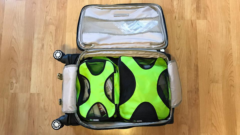 The best gifts for travelers: Shacke Packing Cubes Set of 4