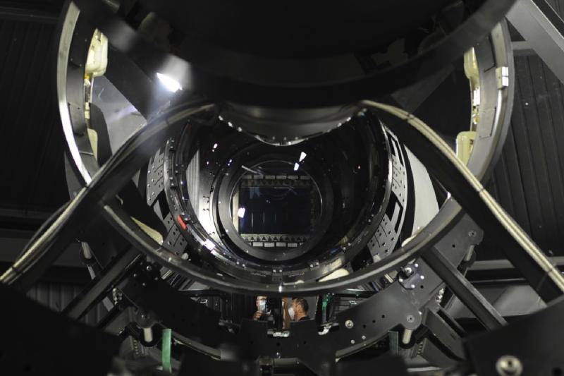 DARPA's ultrapowerful Space Surveillance Telescope scans the sky for asteroids