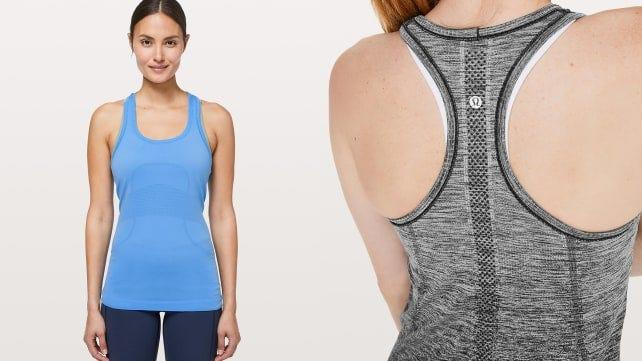 This racerback will actually stop you from smelling.