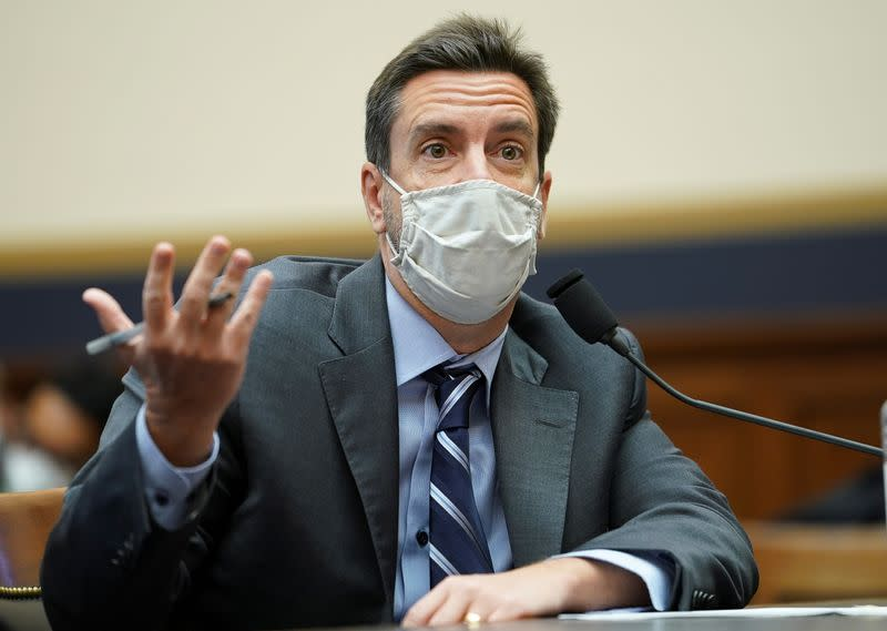 Outkick's Clay Travis testifies at House Judiciary Subcommittee hearing on Capitol Hill in Washington