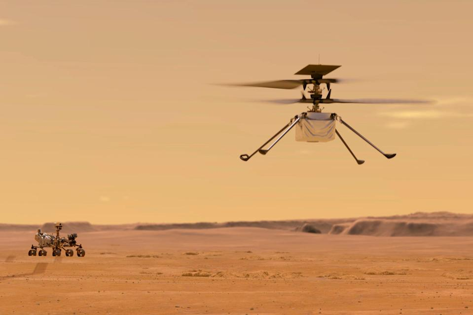 Mars Helicopter (ASSOCIATED PRESS)