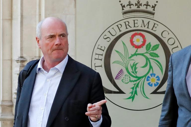 Boris Johnson's lawyer James Eadie has put the case that the proroguing of parliament is a trictly political matter and not one for the courts (AFP Photo/Tolga AKMEN)