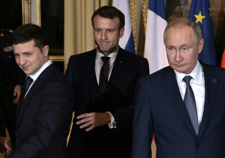 The swap came after a meeting between the Russian and Ukrainian leaders in Paris this month