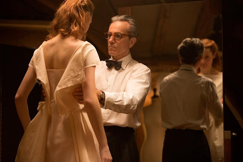 Vicky Krieps and Daniel Day-Lewis in a still from Phantom Thread