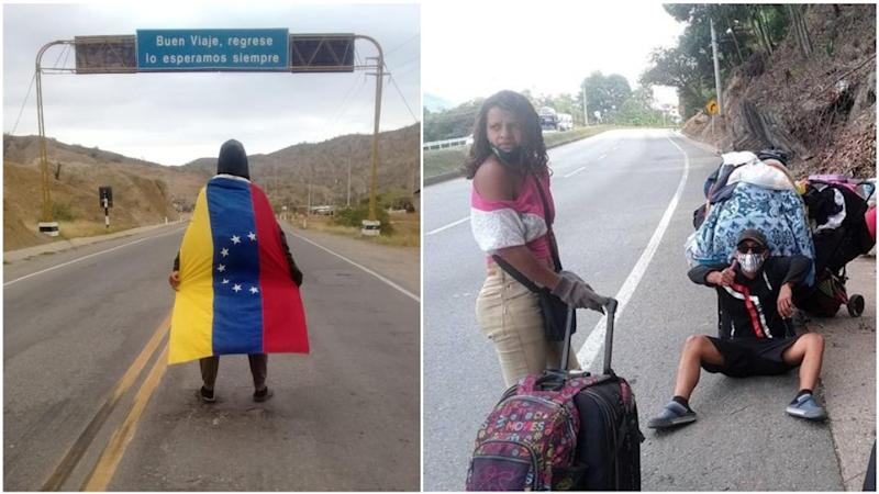 By bus or on foot: the long road home for Venezuelans stuck abroad during the pandemic