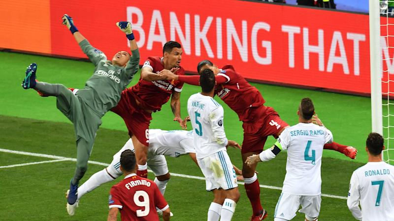 Keylor Navas Real Madrid Liverpool Champions League final 26052018