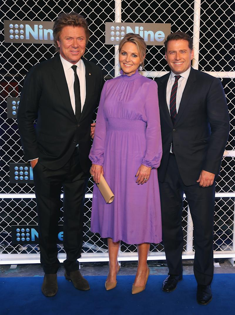 Richard Wilkins was a longtime Today show staple alongside Karl Stefanovic and Georgie Gardner. Photo: Getty Images