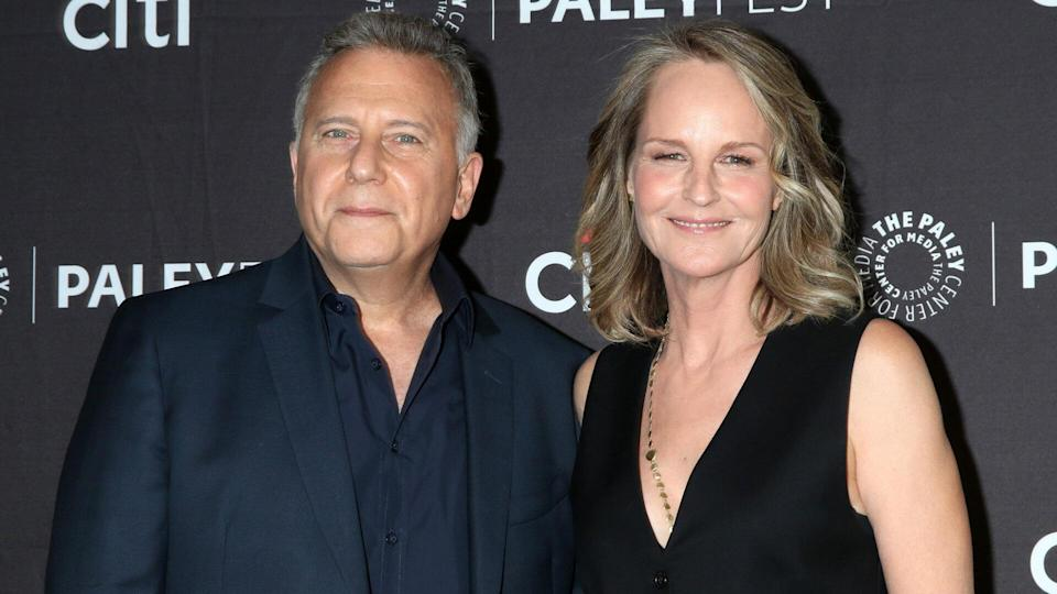 """LOS ANGELES - SEP 7: Paul Reiser, Helen Hunt at the PaleyFest Fall TV Preview - """"Mad About You"""" at the Paley Center for Media on September 7, 2019 in Beverly Hills, CA."""
