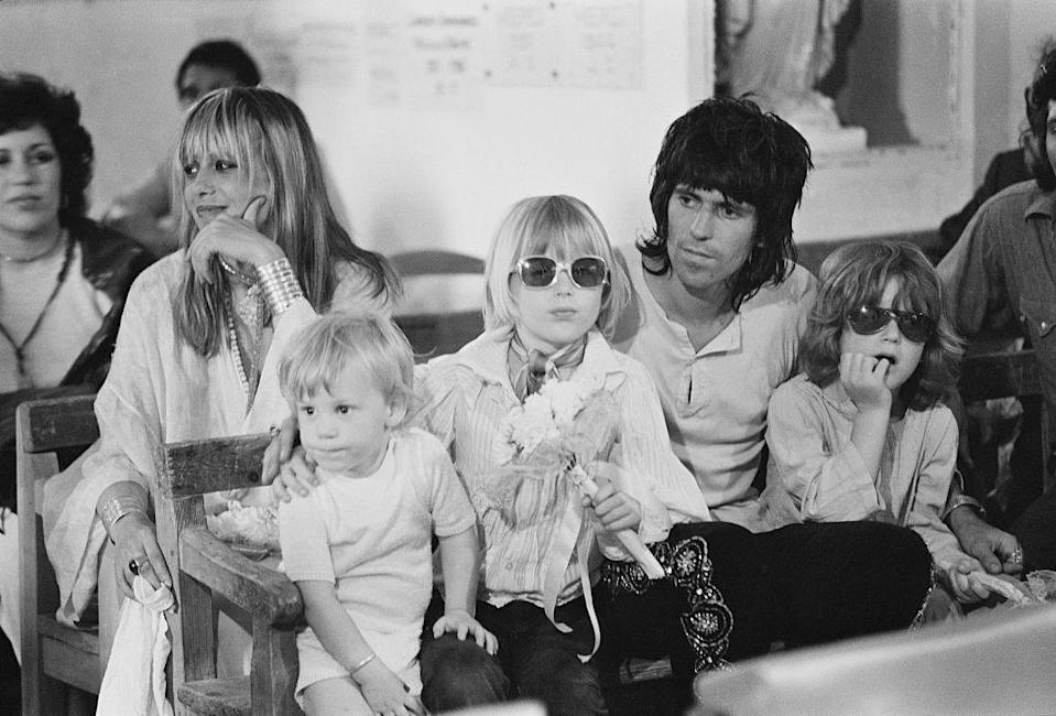 <p>When Mick and Bianca Jagger tied the knot in Saint-Tropez in 1971, an invitation was hard to come by. The couple had an intimate ceremony, but Keith Richards, his wife Anita and (you guessed it!) their three children made the list for one of the biggest weddings in pop culture history.</p>