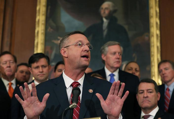Rep. Doug Collins of Georgia. (Photo: Mark Wilson/Getty Images)