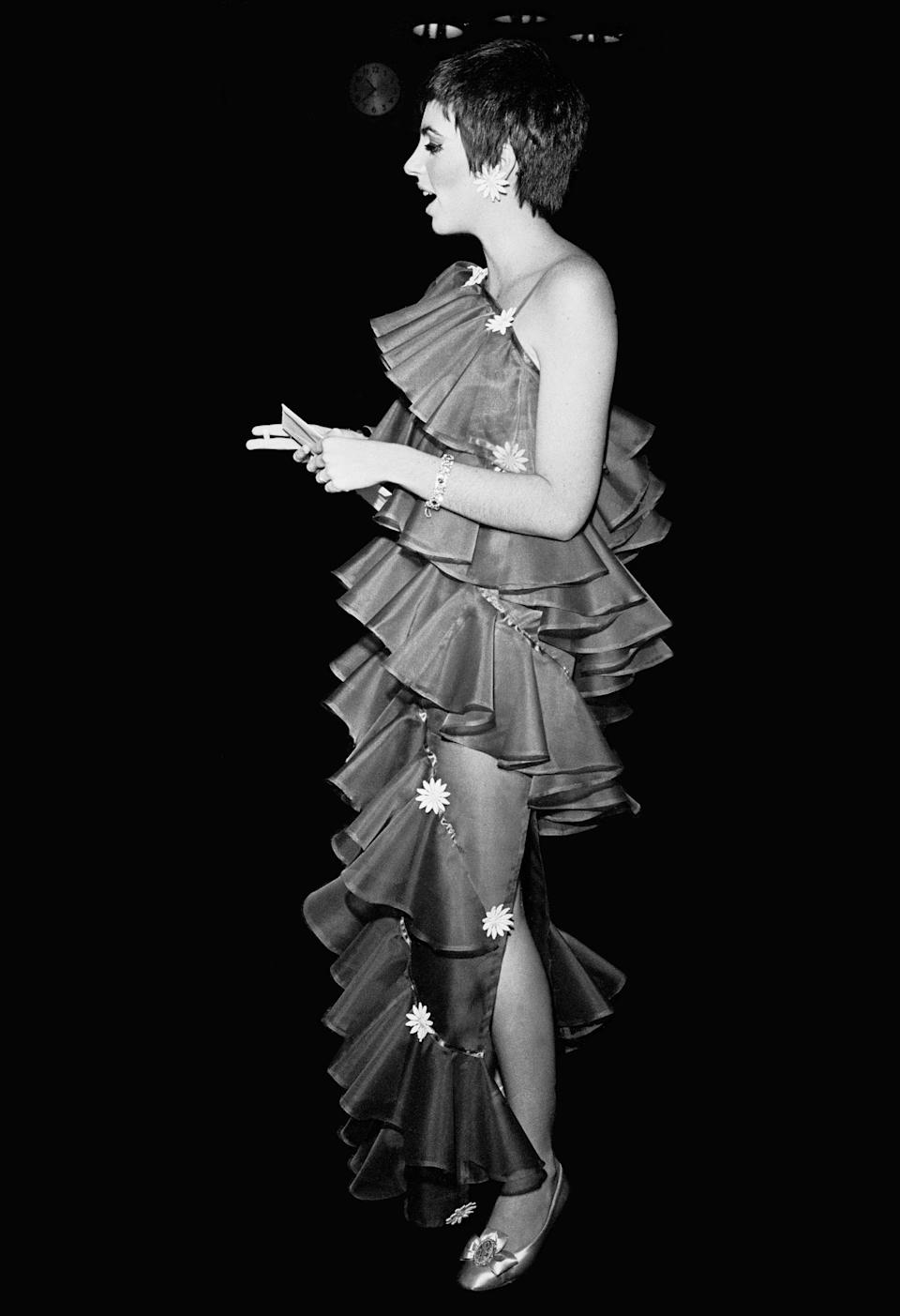 Minnelli at the Tony Awards, New York, 26 March 1967