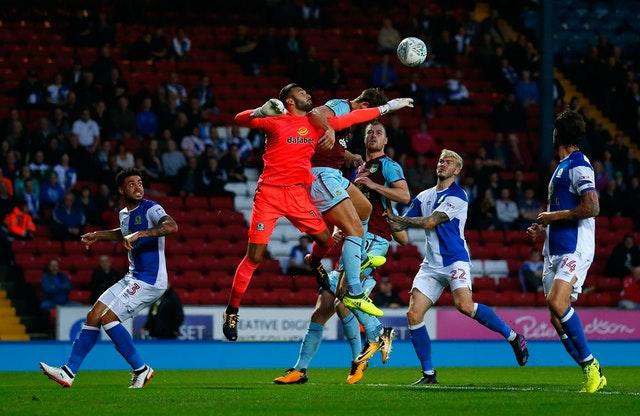 Blackburn Rovers v Burnley – Carabao Cup – Second Round – Ewood Park