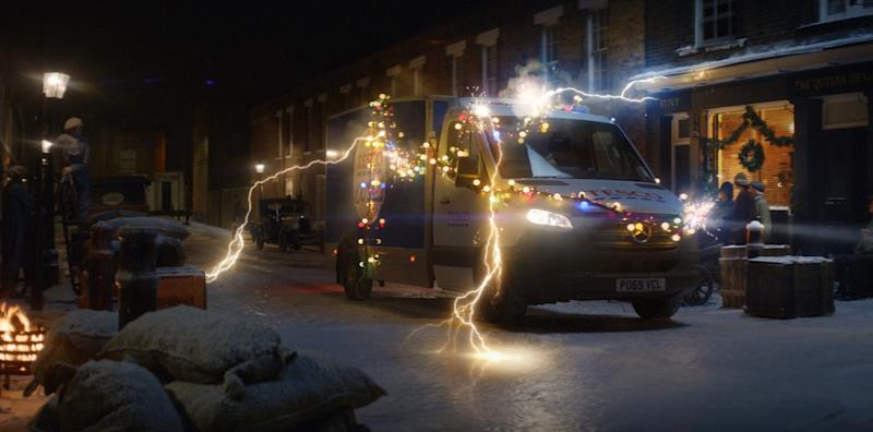 Tesco Christmas advert