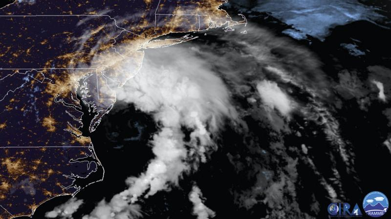 Tropical Storm Fay makes landfall in New Jersey