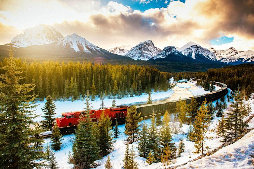 <p>Rocky Mountaineer offers mindbogglingly beautiful routes through the Pacific Northwest, with views of mountain ranges, waterfalls, and snow-capped glaciers. So as to protect the stunning scenery that it meanders through, the company has reduced its carbon emissions, increased on-board recycling and partnered with organisations to protect the local wildlife.</p>