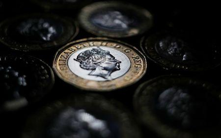 Sterling touches day's lows after UK inflation data