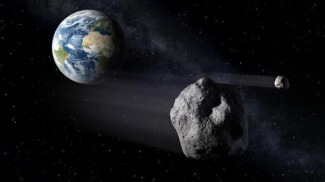 Newfound house-sized asteroid, 2020 GH2, flies past Earth today