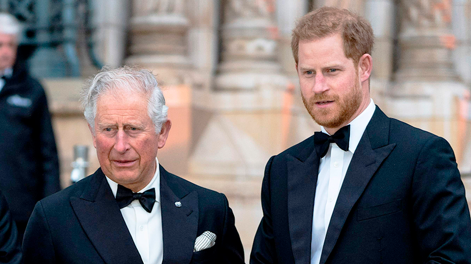 Prince Charles Prince Harry cut off claims disputed after Oprah interview