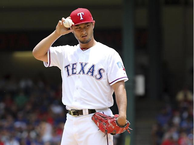 Yu Darvish's time in Texas is coming to an end. (AP Images)