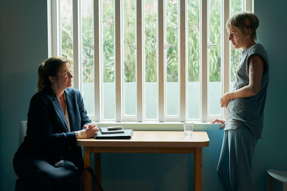 <p>Emily Watson and Denise Gough give compelling performances</p> (ITV)
