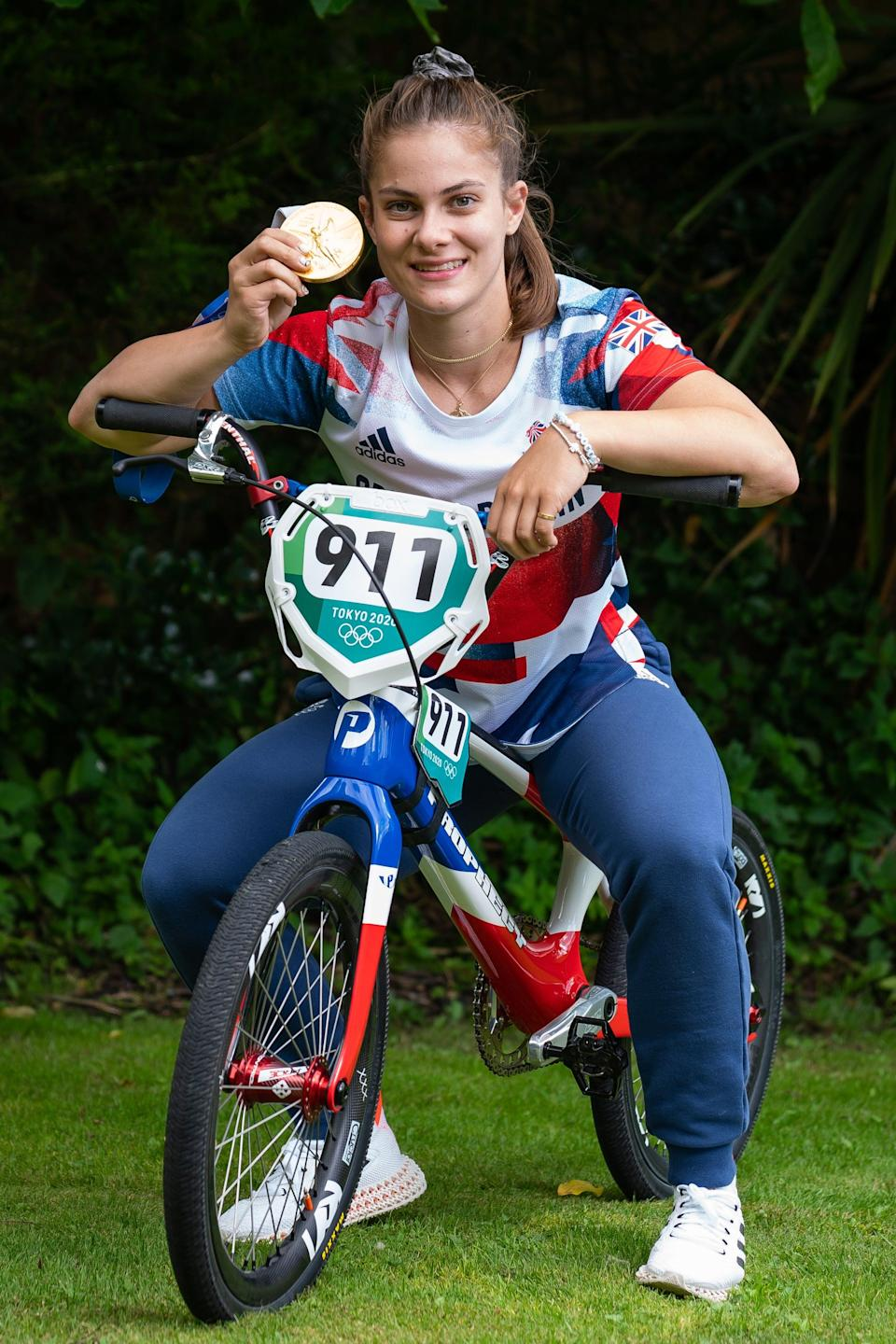 Beth Shriever was the only woman on the Team GB BMX squad (Aaron Chown/PA) (PA Wire)