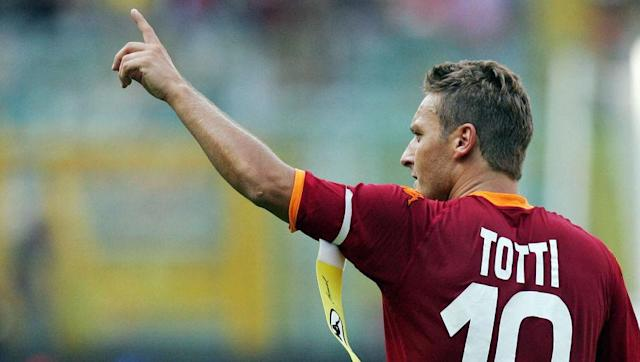 <p>Totti was never really considered as an out-and-out striker, but he did scoop the European Golden Shoe award in the 2006/07 season by scoring 26 in Serie A.</p> <br><p>The goals came while he played in the position of a false-nine, and it remains his best ever return in front of goal. He'll stay as the club's record goalscorer for a very, very long time.</p>