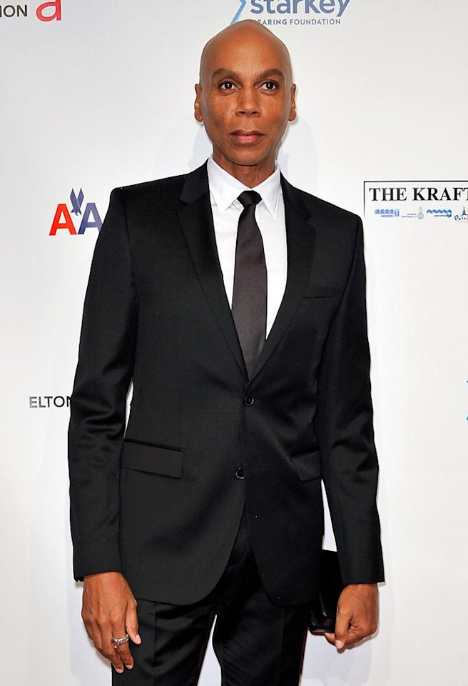 "NEW YORK, NY - OCTOBER 15: RuPaul attends the Elton John AIDS Foundation's 11th Annual ""An Enduring Vision"" Benefit at Cipriani Wall Street on October 15, 2012 in New York City. (Photo by D Dipasupil/FilmMagic)"