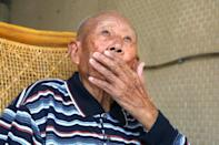 100-year-old veteran Hsiang Pi-chien recalled how the Kuomintang had spent weeks in retreat to Mao's communist forces
