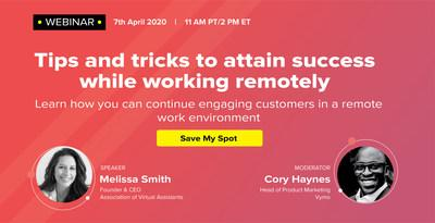 [Webinar] The New Normal for Sales Leaders Working Remotely | Register Now