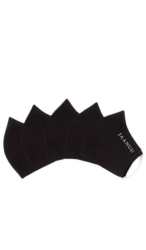 <p>We know so many people that love these <span>Jaanuu Antimicrobial Ponte Face Masks</span> ($39 for 5).</p>