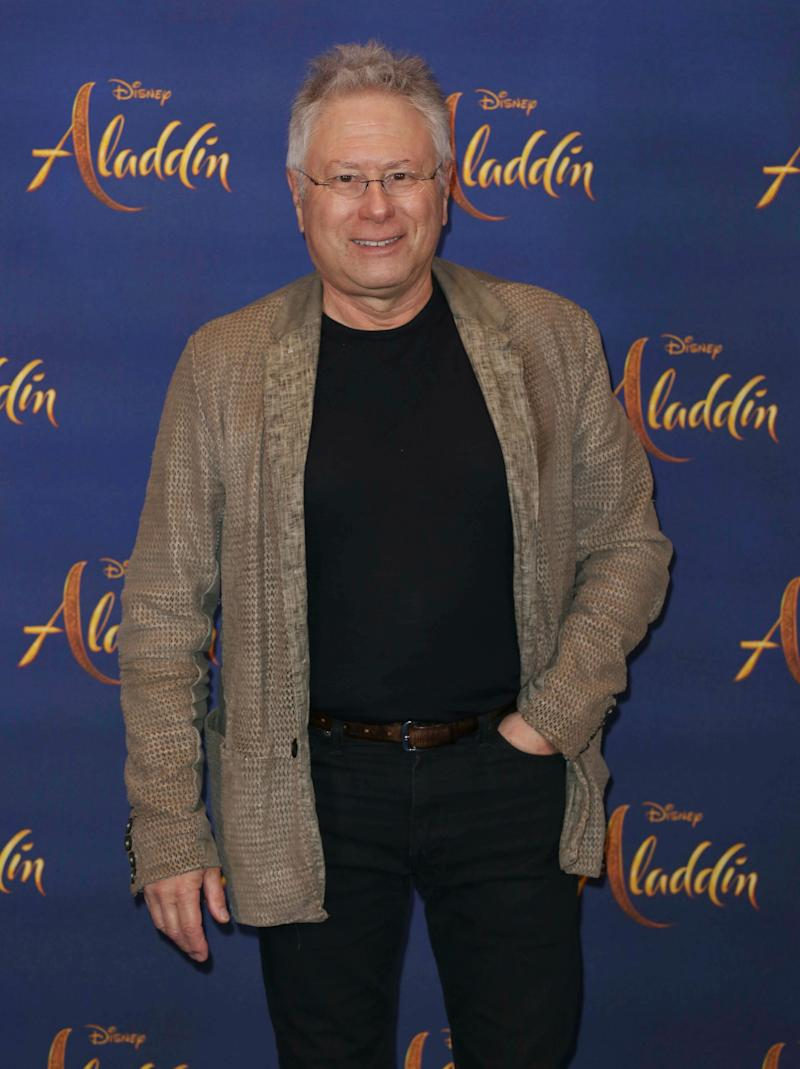 Photo by: KGC-158/STAR MAX/IPx 2019 5/10/19 Alan Menken at a photocall for 'Aladdin' in London, England.