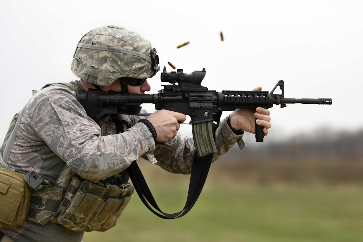 The U S  Army's Powerful New 7 62mm Service Rifle Is