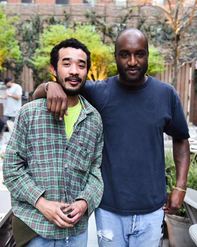Lucien Smith and Virgil Abloh a celebration of their 'Friends' exhibition at PUBLIC.