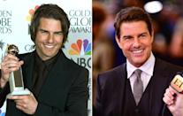<p>All these<em> Mission Impossible</em> movies are doing wonders for Cruise's looks tbh (Photo credit should read Vince Bucci/AFP/Getty Images) </p>