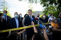 Interior Minister Gerald Darmanin confirmed that the suspect was known to police as a radical