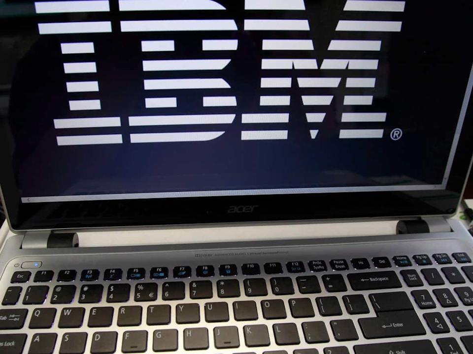 IBM Canada officially launched Unamaki P-TECH School on Tuesday enabling high school students to graduate with a college diploma in software engineering. (Toby Talbot/Associated Press - image credit)