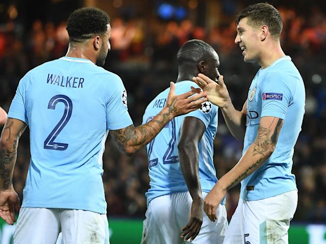 John Stones at the double as Manchester City maintain winning ways to fire four past Feyenoord