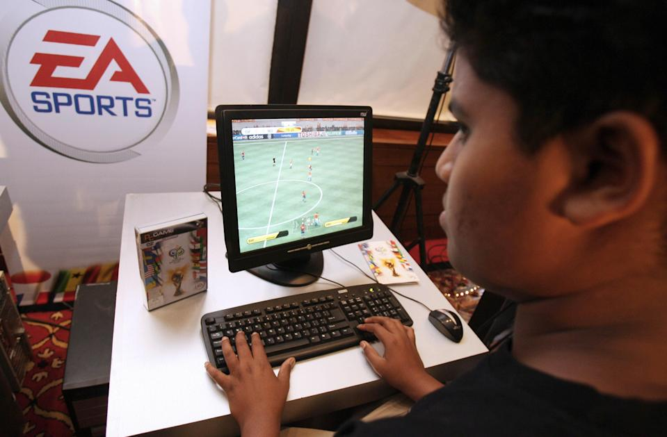 <p>File image: Several southern Indian states have looked into cracking down on gaming online</p> (AFP via Getty Images)