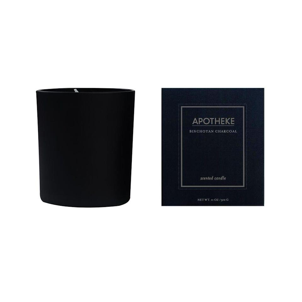 Meant to mimic the scent of Binchotan charcoal, this cedarwood candle combines notes of amber, patchouli, and a smoky fire to smell especially full-bodied and moody.
