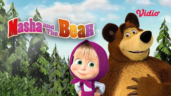 Masha and The Bear. (Seumber : dok. vidio.com)