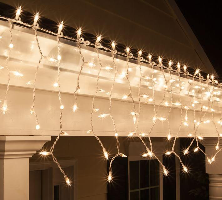 """<p>Bring the magic in with these <product href=""""https://www.potterybarn.com/products/clear-incandescent-icicle-lights-with-white-wire-mp/?pkey=cstring-lights&amp;isx=0.0.4746"""" target=""""_blank"""" rel=""""nofollow"""" class=""""ga-track"""" data-ga-category=""""internal click"""" data-ga-label=""""https://www.potterybarn.com/products/clear-incandescent-icicle-lights-with-white-wire-mp/?pkey=cstring-lights&amp;isx=0.0.4746"""" data-ga-action=""""body text link"""">Clear Incandescent Icicle Lights</product> ($30).</p>"""