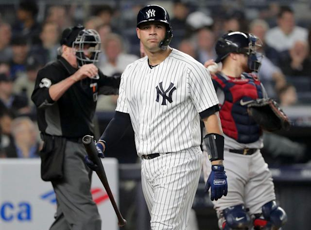 Gary Sanchez commands a high draft price — are you willing to pay it? (AP Photo/Frank Franklin II)