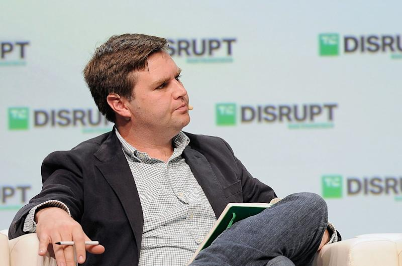 'Hillbilly Elegy' Author Starts VC Fund Backed by Peter Thiel