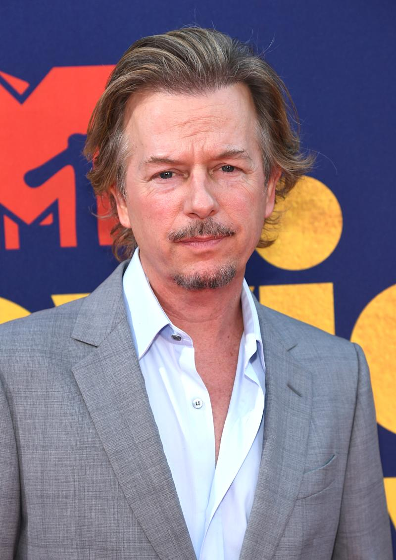 SANTA MONICA, CALIFORNIA - JUNE 15: David Spade attends the 2019 MTV Movie and TV Awards at Barker Hangar on June 15, 2019 in Santa Monica, California. (Photo by Kevin Mazur/Getty Images for MTV)