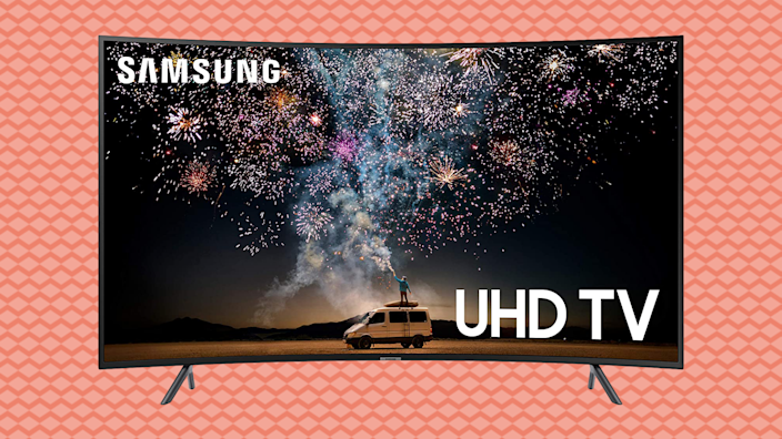 Save 30—Samsung Curved 65-inch 4K UHD 7 Series Ultra HD Smart TV. (Photo: Amazon)