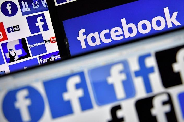 """Facebook banned a woman for 24 hours for saying """"men are dumb"""" (Getty)"""