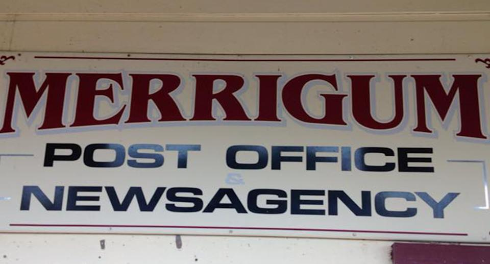 Angela Spedding from the Merrigum post office admitted she was vaccine-hesitant.  Source: Facebook