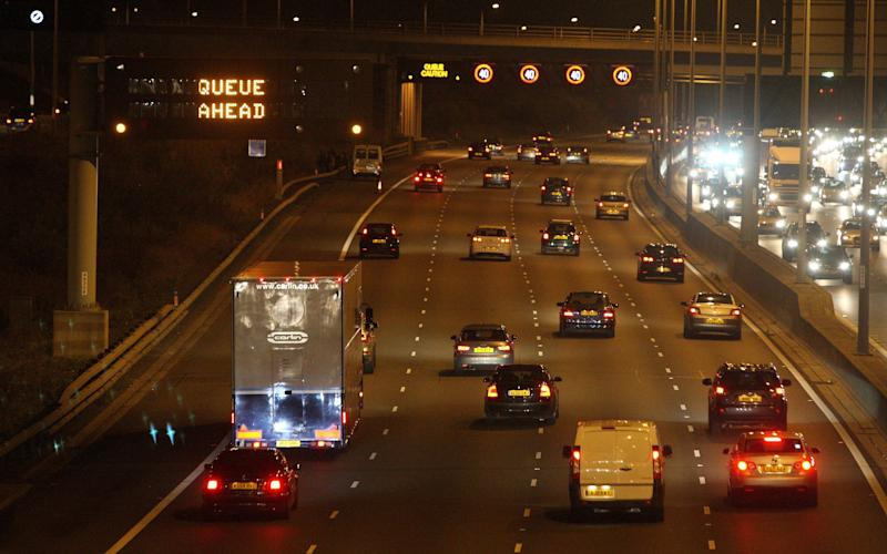Tracking data shows that the M25 gets very congested. We hope it may one day give us clues as to the spiritual leanings of the Pope - PA Archive/PA Images