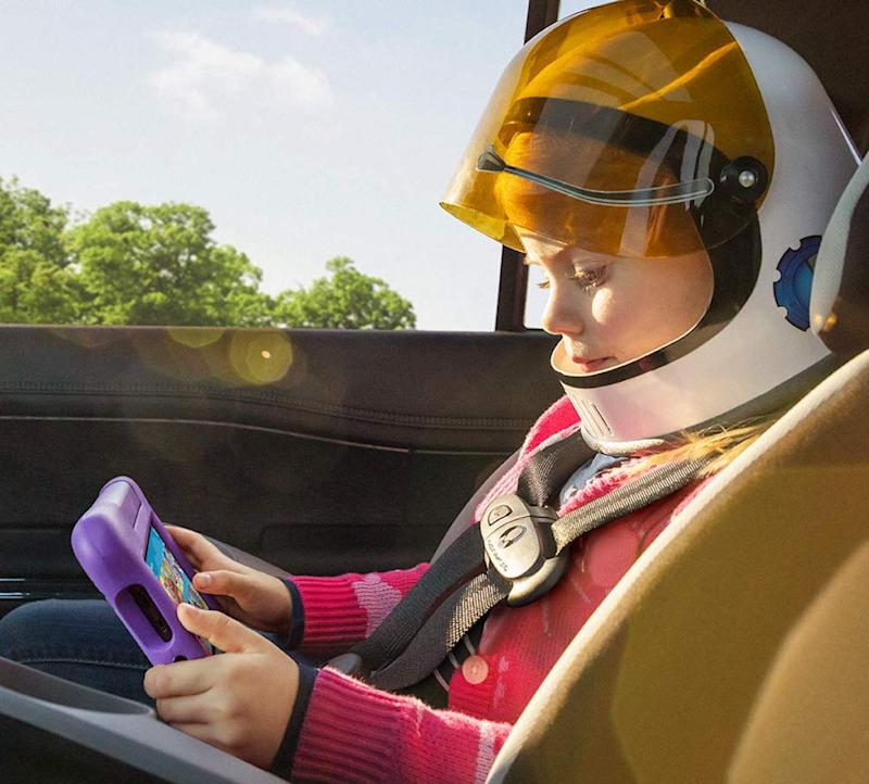 The Fire 7 Kids Edition tablet is perfect for long road trips.